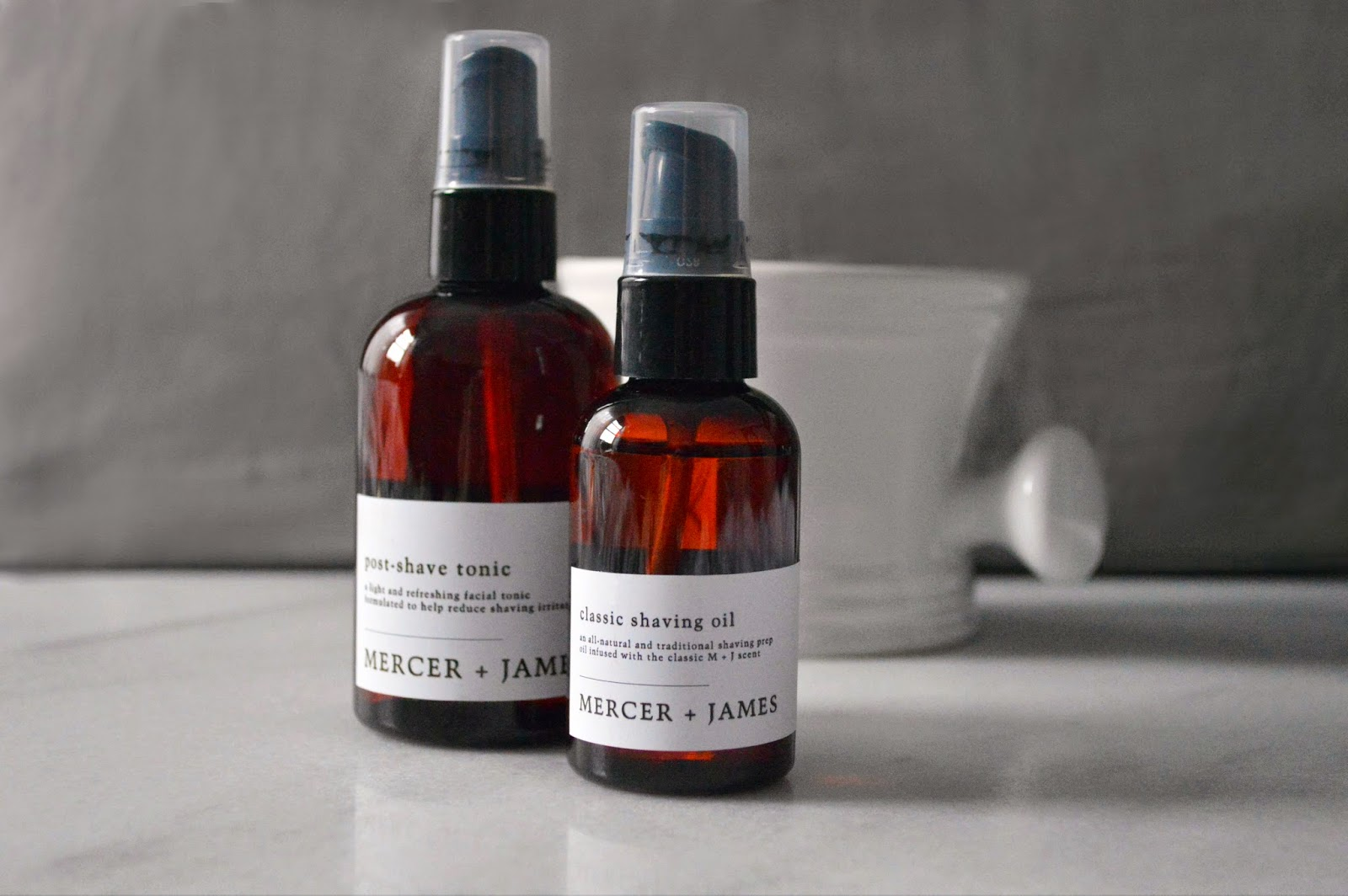 classic shaving oil and post-shave tonic, always made in small batches for the best quality