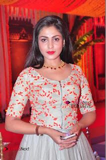 Actress Madhu Shalini Exclusive Stills in Party Dress at Vijay Karan Aashna Wedding  0020.JPG
