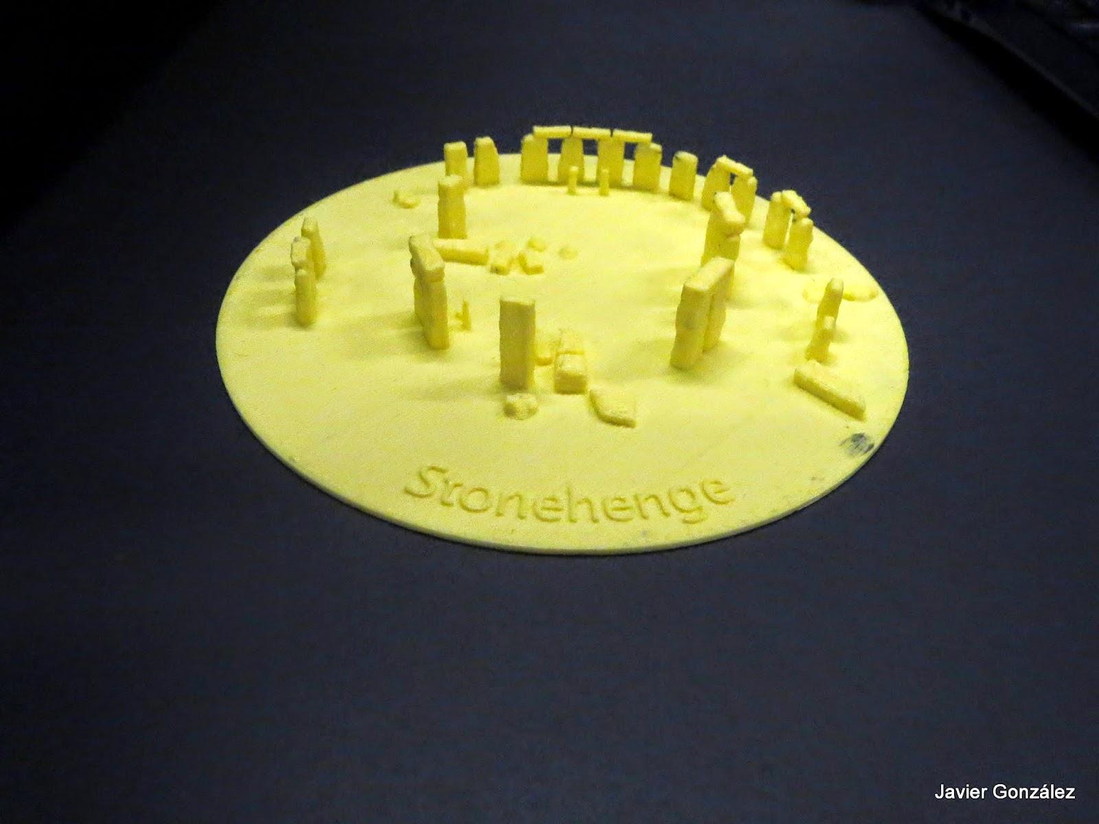 Stonehenge construido por una impresora 3D