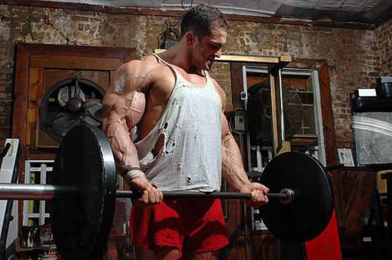 Errores al hacer bíceps