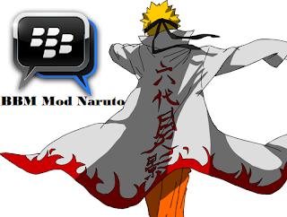 BBM Mod Naruto v2.13.1.14 APK ( Full DP )