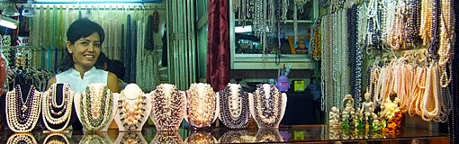 The necklace shop