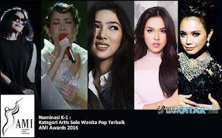 Daftar Lengkap Nominasi AMI Awards 2016