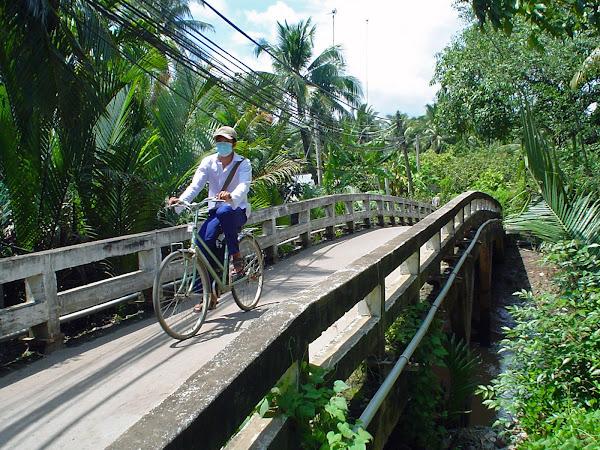 Alquiler de bicicletas por My Tho