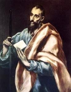 Imagen de San Tito con barba larga