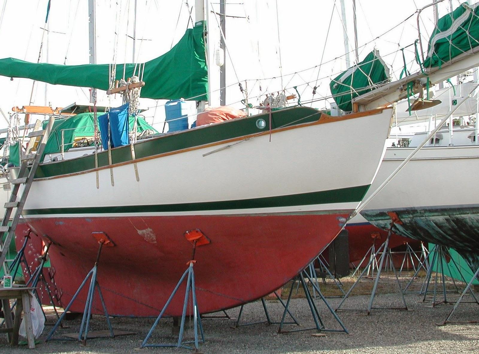 S V Domina Mari A Westsail 32 The Westsail 32
