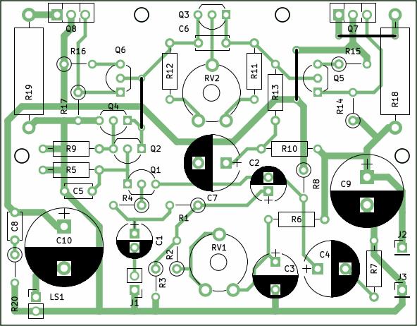 10w stereo audio amplifier with transistors one transistor rh onetransistor eu Power Amplifier Circuits Schematics Power Amp Schematic