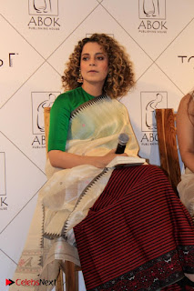 "Actress Kangana Ranaut Pos in Lehenga Choli at ""Between the Poet and her Pencil"" Book Launch  0003.jpg"