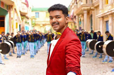 Theri Exclusive HD Vijay Wallpapers