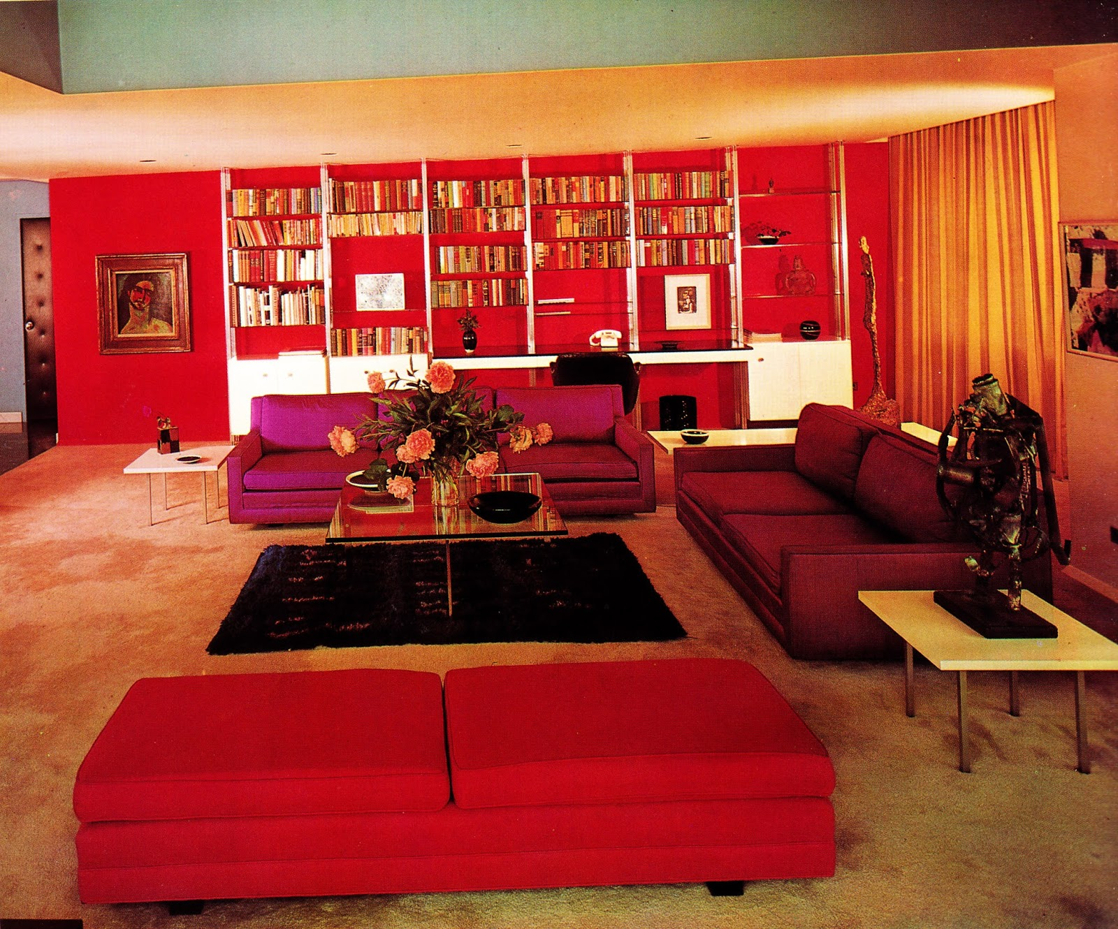1960s Interior D 233 Cor The Decade Of Psychedelia Gave Rise