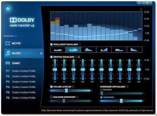 dolby home theater v4 for windows 7 (32-bit 64-bit)