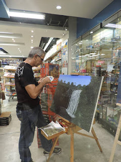 Jorge Marín pintor Colombiano, artista realista Colombiano