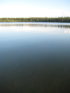 Photo of a small northern lake