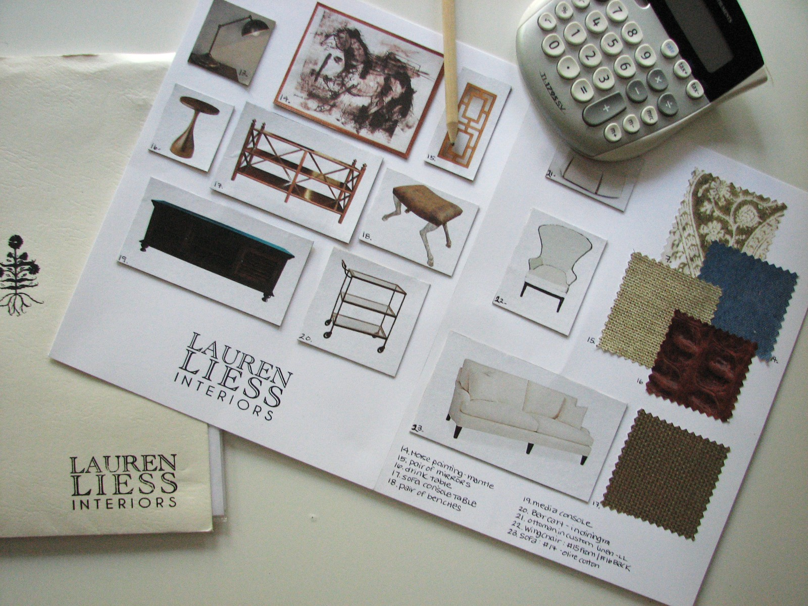 Furniture Design Drawing Room