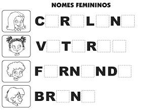 Bingo nomes femininos