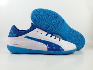 Puma evoTOUCH 3 Indoor - White Blue