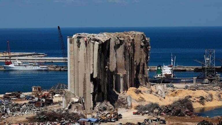 الكويت-تتعهد-بإعادة-بناء-صومعة-القمح-التي-دمرها-انفجار-مرفأ-بيروت