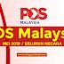 POS Malaysia Buka Pelbagai Jawatan Kosong di Seluruh Negara / Mei 2019