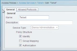 Cisco ACS setting access policies
