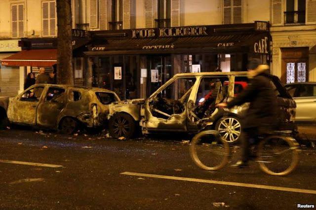 Bạo loạn 'áo gi-lê vàng' biến trung tâm Paris thành bãi chiến trường ảnh 3
