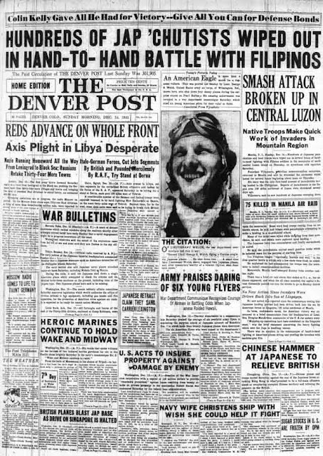 Denver Post, 14 December 1941 worldwartwo.filminspector.com