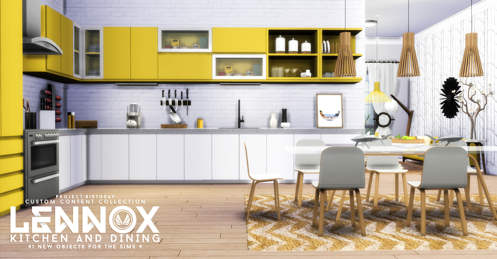 Sims 4 Küchenzeile Sims 4 Cc 39s The Best Lennox Kitchen And Dining Set By