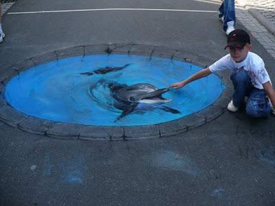 Super Kreatif!!! Lukisan 3D Berikut Ini Benar-Benar Seperti Nyata