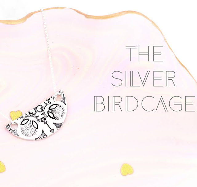 Let's meet Heather from The Silver Birdcage - Mandala Necklace Designs