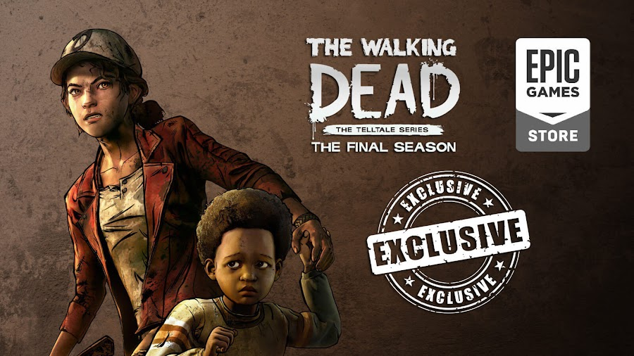 telltale walking dead final season pc exclusive epic store