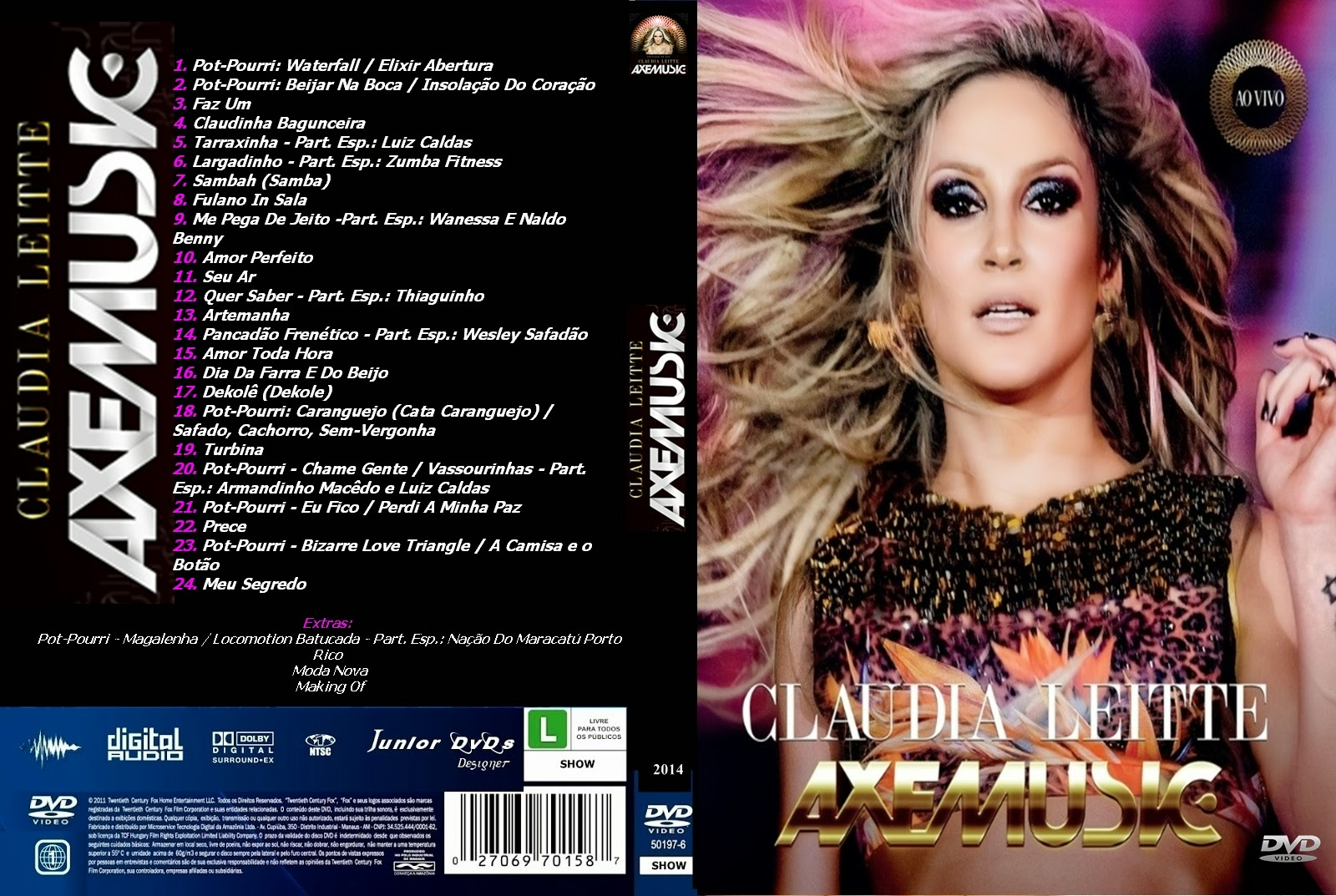 dvd claudia leitte axemusic avi