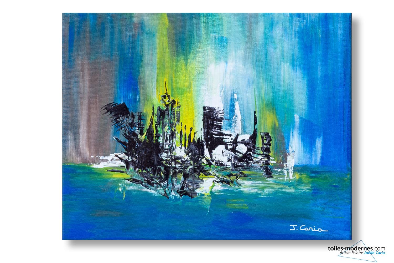 Jo lle caria artiste peintre toiles tableaux modernes contempor - Acheter des tableaux ...