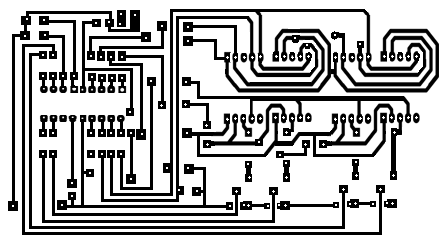 PIC16F84 12 or 24 Hour Digital Clock Circuit Diagram And