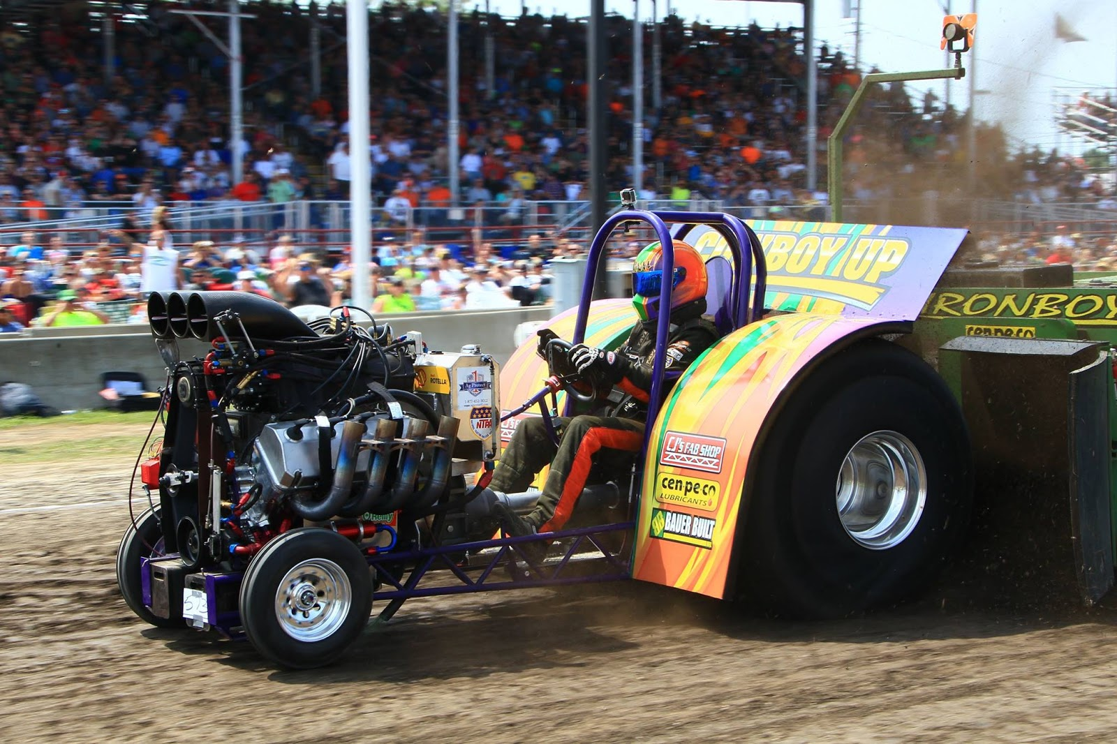 Tractor Pulling News Pullingworld Com The New Cowboy Up