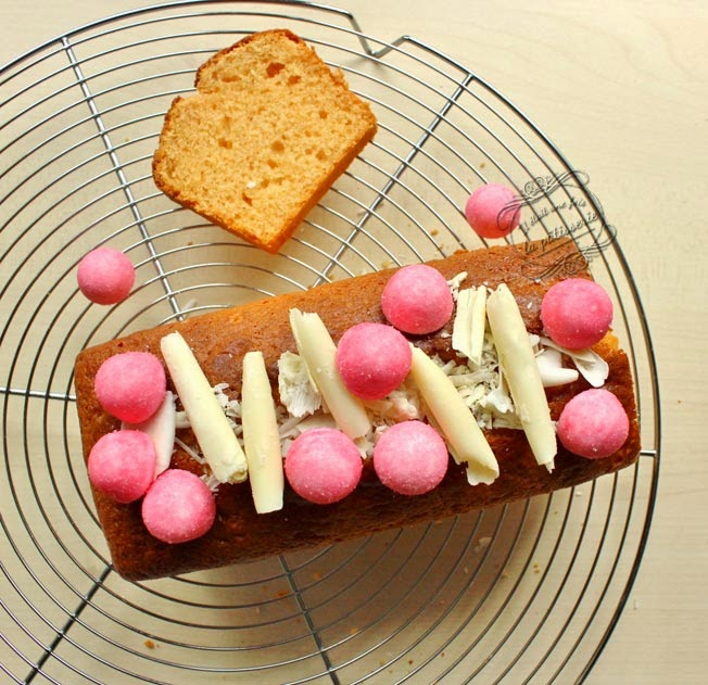 cake aux fraises tagada