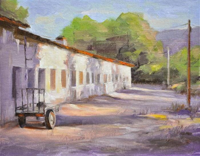Пейзажи, портретная и фигуративная живопись. Ran Wu