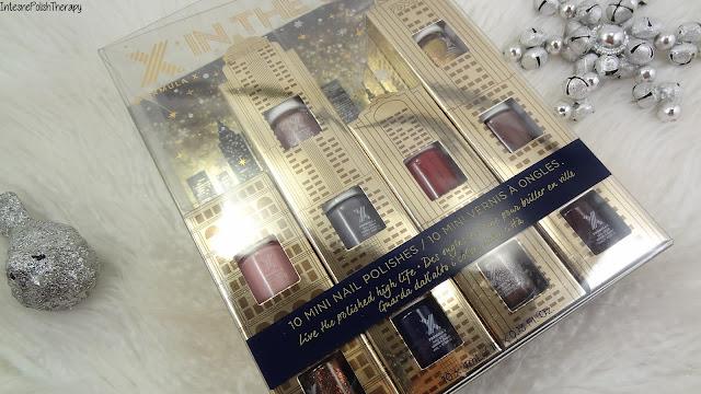 X In The City 10-Piece Mini Nail Polish Set