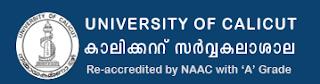 Calicut University University Result 2018
