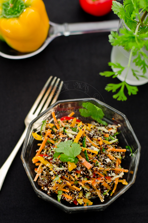 Black Quinoa Salad