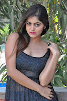 Pragya Nayan New Fresh Telugu Actress Stunning Transparent Black Deep neck Dress ~  Exclusive Galleries 035.jpg