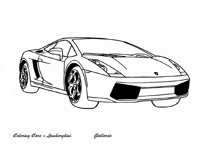Lamborghini da colorare for Lamborghini egoista coloring pages