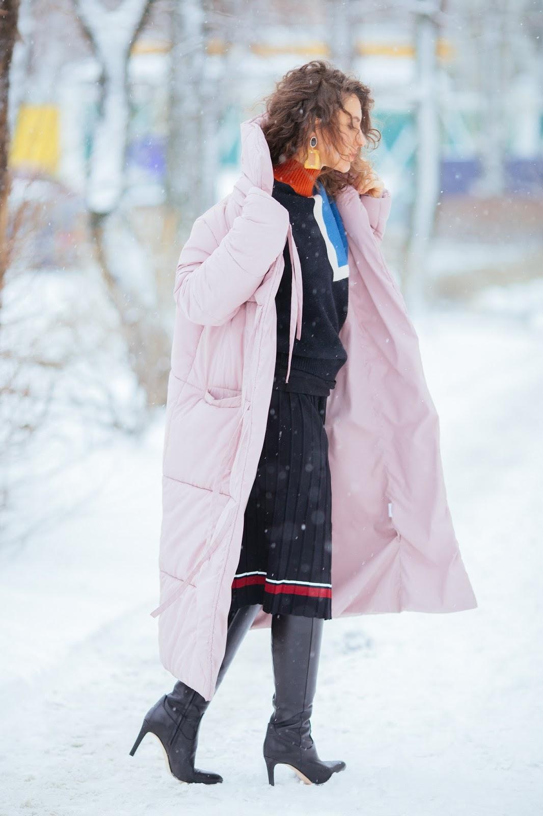 теплый лук в снег