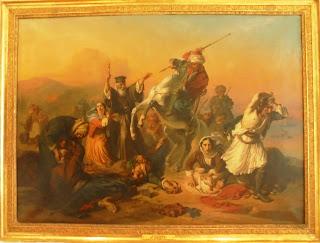 το έργο Η Σφαγή της Χίου του Chudiakov Vassili στο Μουσείο Μπενάκη