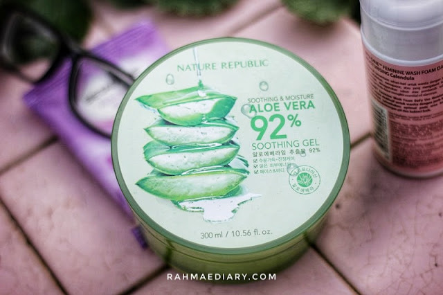 Nature Republic Aloe Vera  Review