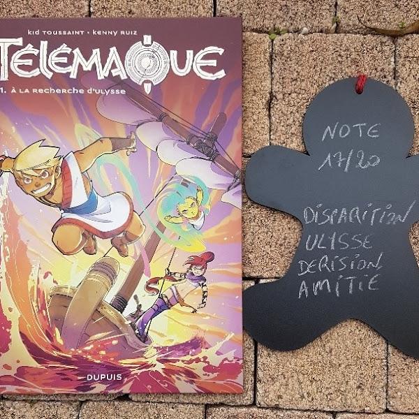 Télémaque, tome 1 : A la recherche d'Ulysse de Kid Toussaint, Kenny Ruiz et Noiry