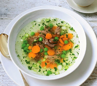 minted spring lamb soup recipe