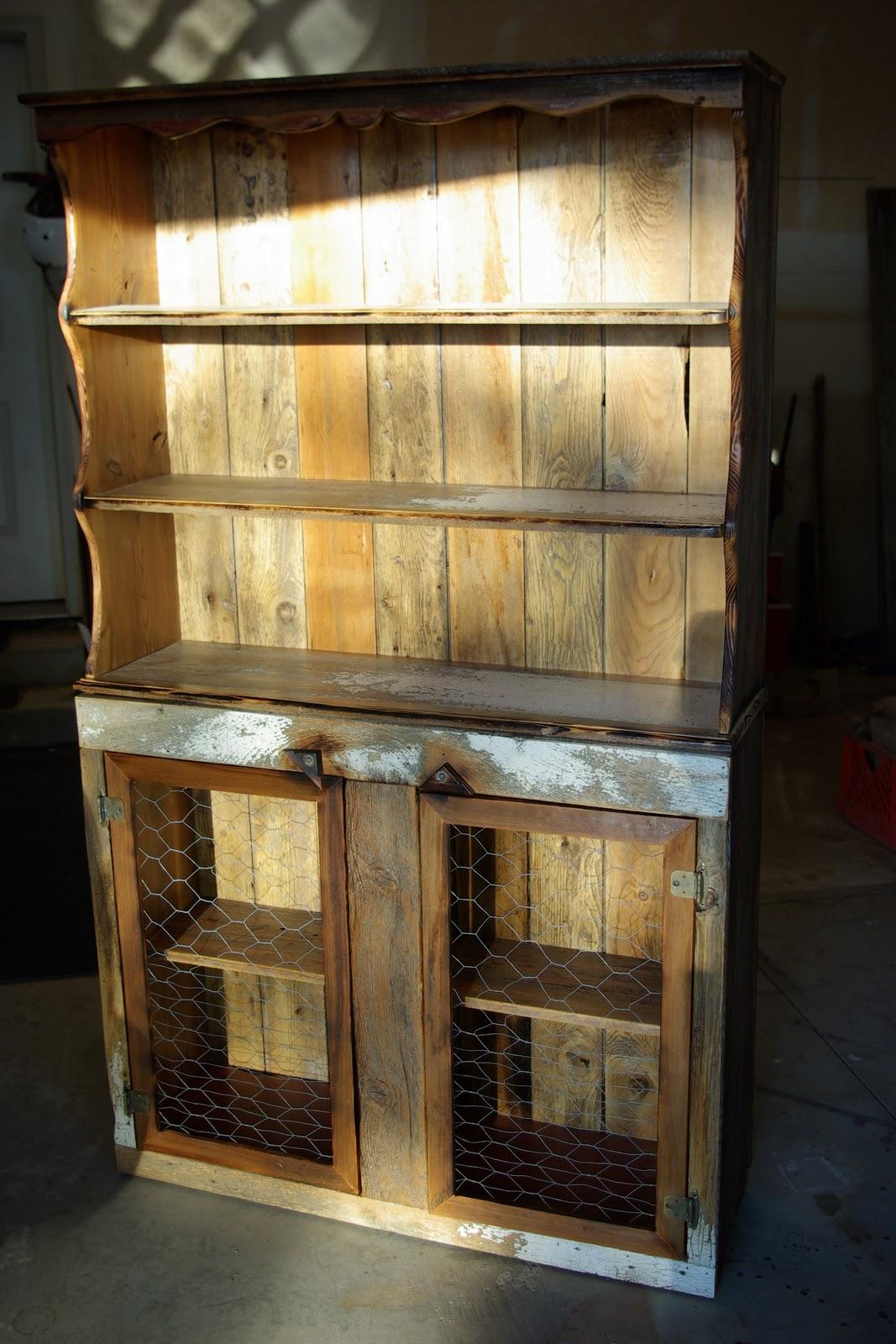 Reclaimed Rustics Barn Wood Hutch