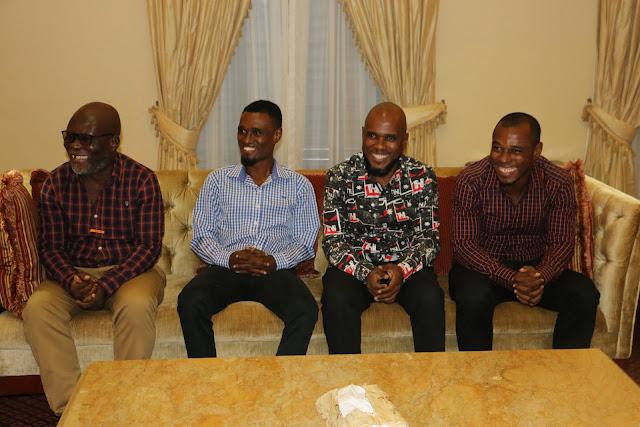 Babu Seya na Mwanaye Wakutana na Naibu Waziri wa Habari Sanaa na Michezo