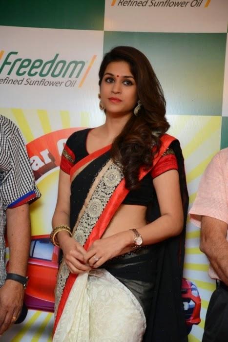 Shraddha Das In Saree For Latest Event Images