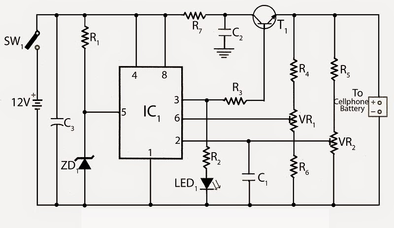 and battery below is the block diagram of mobile phone