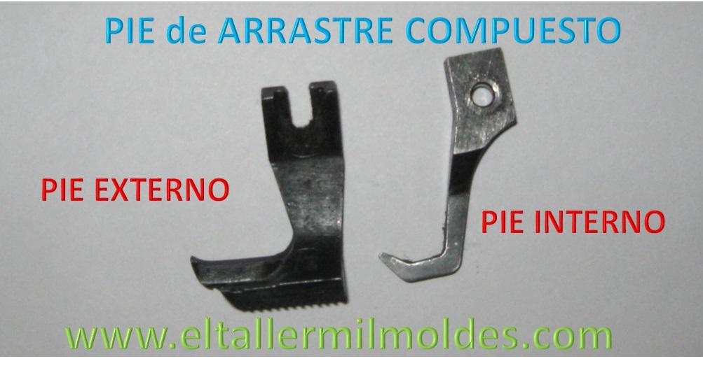 PIES DE ARRASTRE COMPUESTO